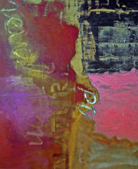 02.-What-colour-is-our-planet-now-Magnolia and Lavender-Medium-Oil-and-spray-paint-on-canvas-170cm-x-135cm